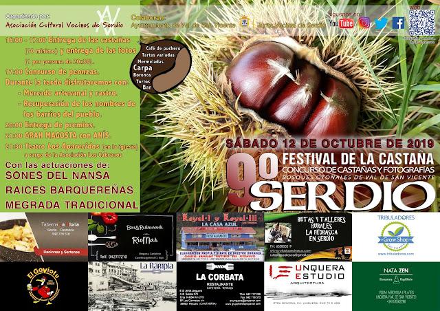 IX Festival de la castaña de Serdio