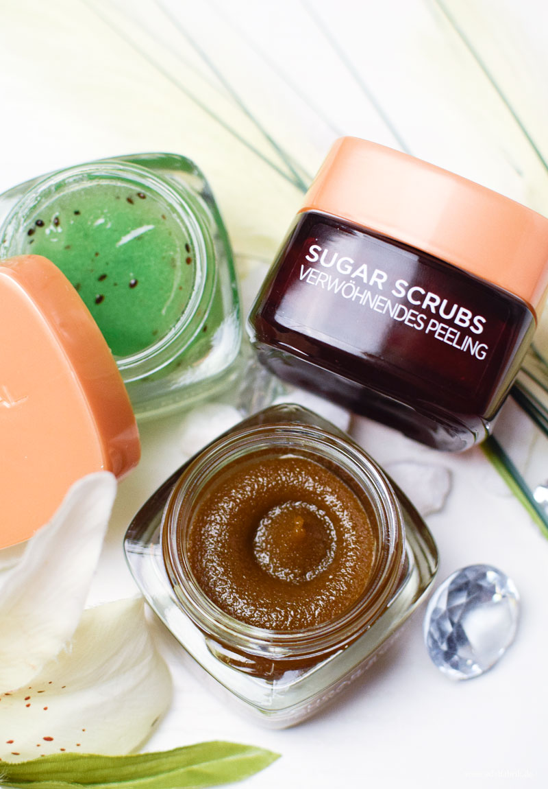 L'Oréal Paris Sugar Scrubs, Zuckerpeeling von L'Oréal, Test
