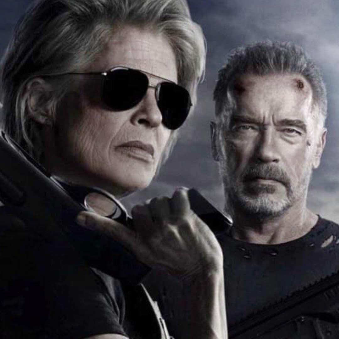 Terminator :「ターミネーター」シリーズ第6弾「ダーク・フェイト」のリンダ・ハミルトンとアーノルド・シュワルツェネッガーが登場した新しいポスター ! !
