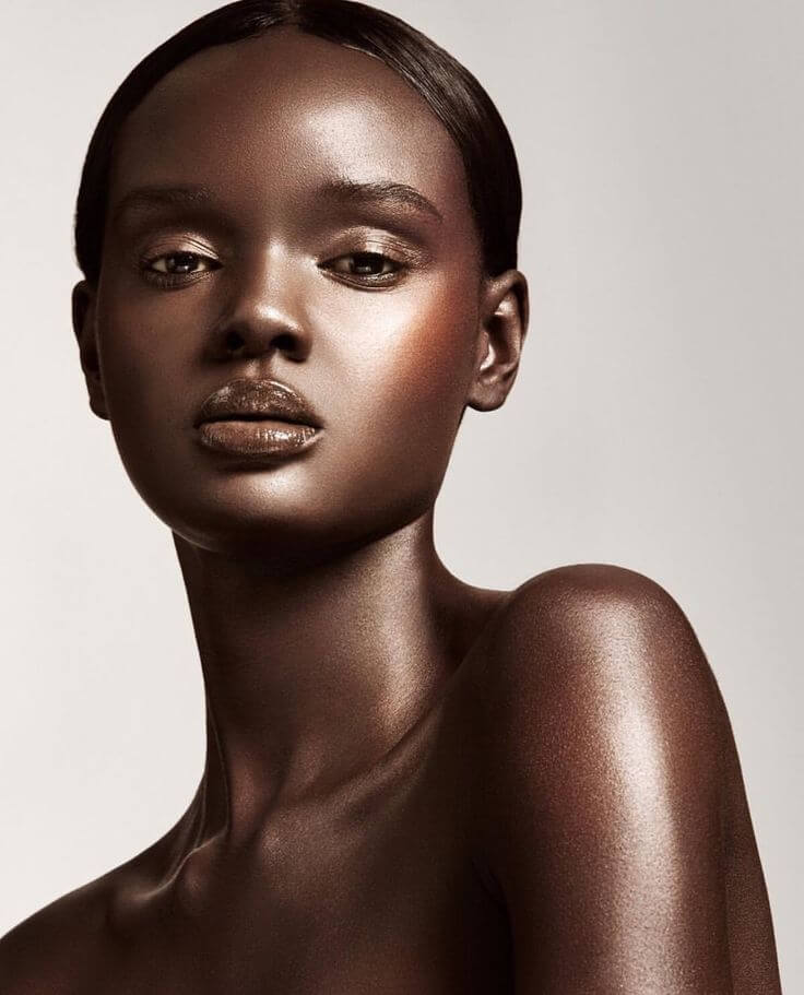 Gorgeous Australian-Sudanese Model Looks Like A Real-Life Barbie