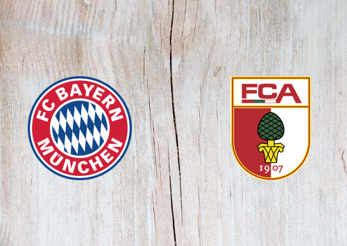 Bayern Munich vs Augsburg -Highlights 8 March 2020