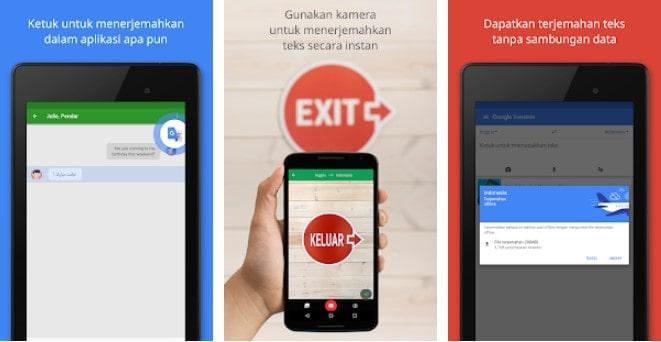 Aplikasi Belajar Bahasa Inggris: Google Translate