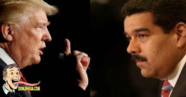 TRUMP   En último discurso considera que Venezuela es una Amaneaza para la región