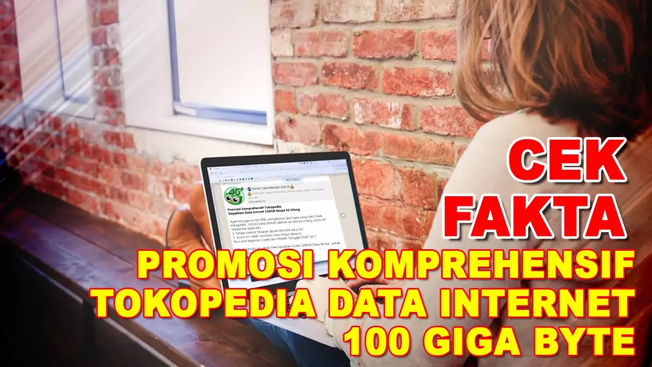 Promosi Komprehensif Tokopedia Data Internet 100GB