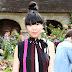 Susanna Lau é vista no desfile da Rodarte na Semana de Moda de Paris como parte da Alta Costura Outono / Inverno 2017-2018 em Paris, França – 02/07/2017