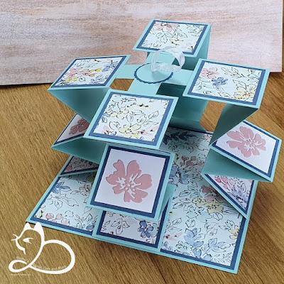 Stampin'Up!®, Lampionkaart, Diana's Cards Cats and More, Bloghop Creatieve Harten Juli 21