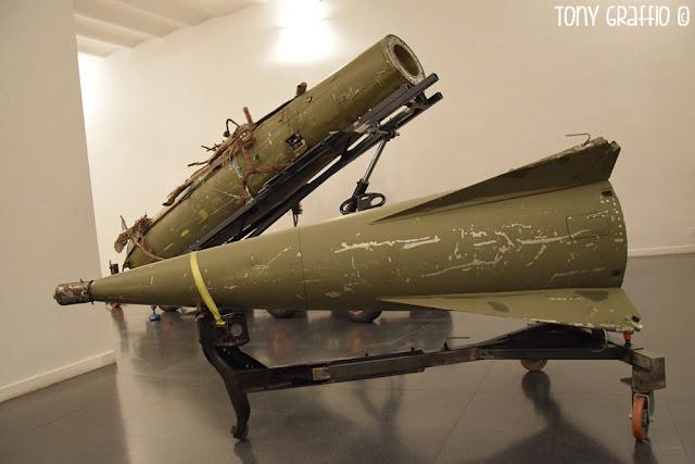 Missile antimissile mostra Gallerani