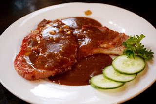 Saucy Pork Steak
