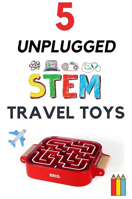 5 Unplugged Travel Toys for Younger Boys and Girls