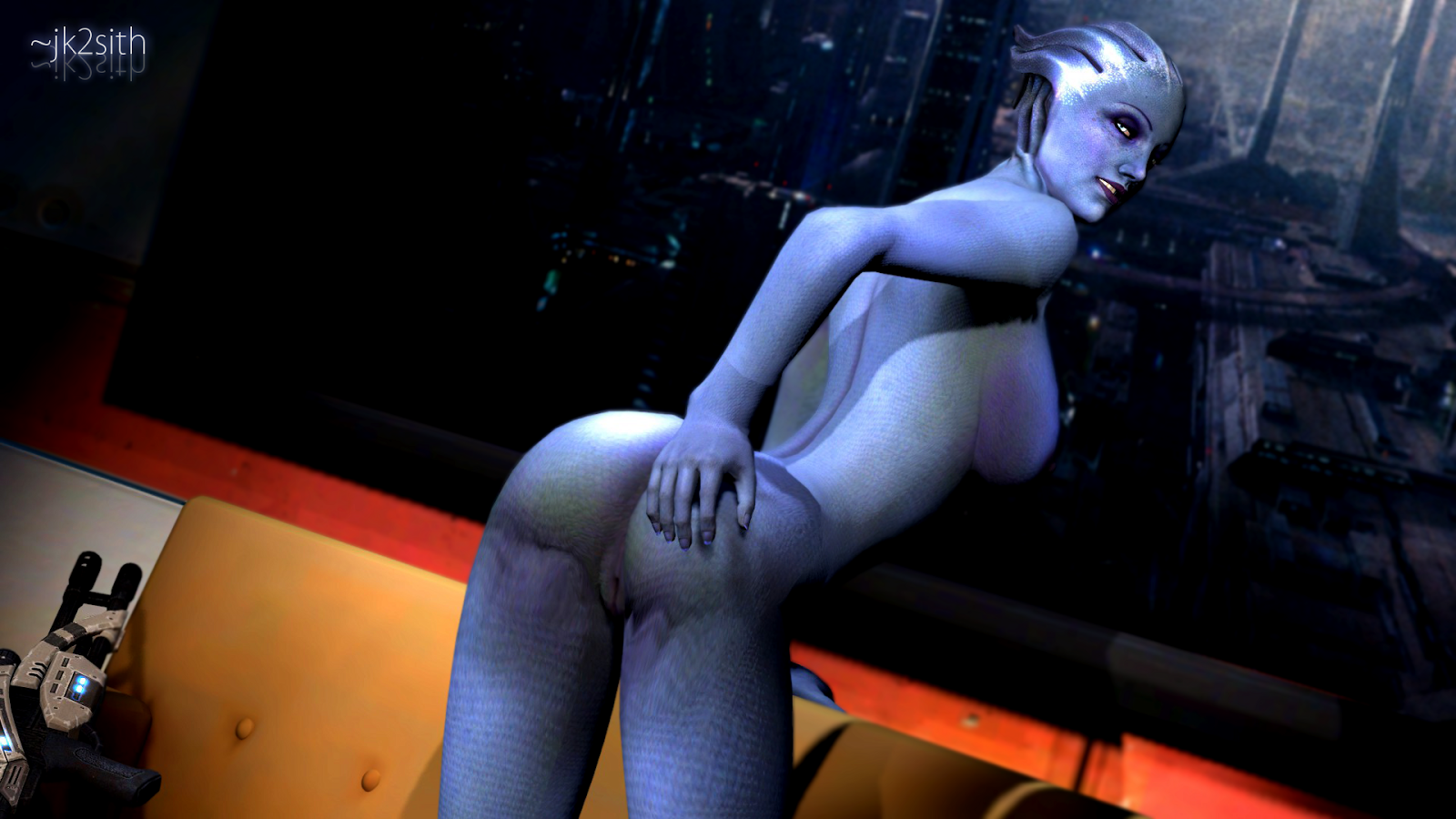 Mass effect sex game