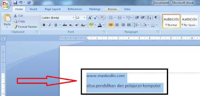 Cara Menggunakan Grow Font dan Shrink Font Pada Microsoft Word, cara mudah memperkecil huruf di microsoft word, cara mudah memperbesar huruf di microsoft word, apa kegunaan grow font, apa kegunaan shrink font