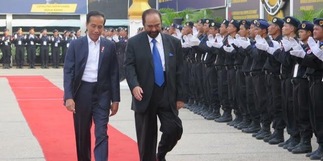 Disinggung, NasDem Sebut Jokowi-Paloh seperti Bapak-Anak