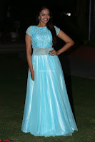 Pujita Ponnada in transparent sky blue dress at Darshakudu pre release ~  Exclusive Celebrities Galleries 126.JPG