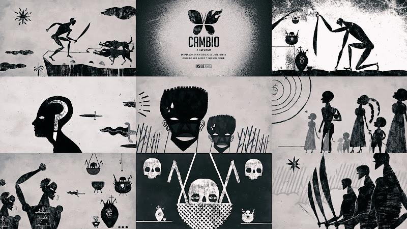 X Alfonso - ¨Cambio¨ - Videoclip / Dibujo Animado - Dirección: Raupa - Nelson Ponce. Portal Del Vídeo Clip Cubano