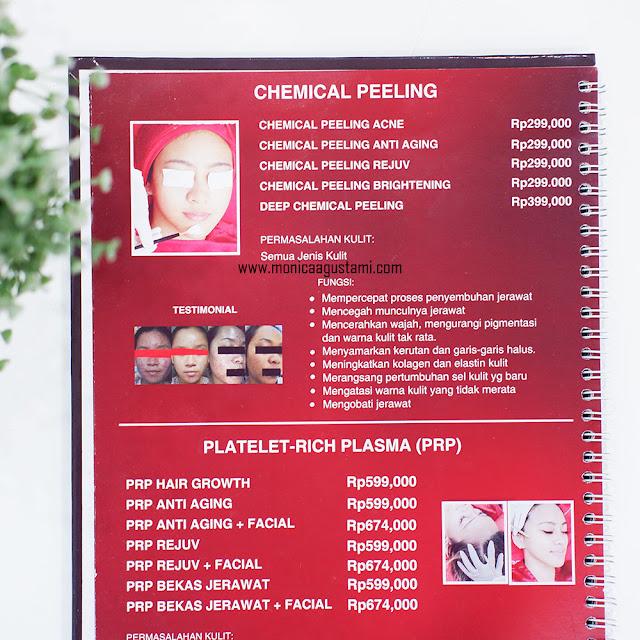 Pricelist Elsheskin Clinic