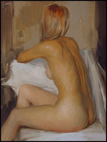 Sentada na Cadeira - Ignat Ignatov e suas mais belas pinturas  ~ Pintora russa