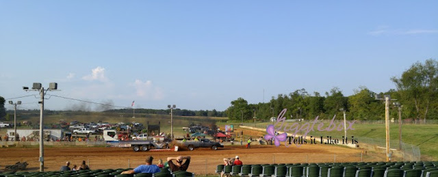family fun watching tractor and truck pulls at the Jefferson County WV fair, Jefferson County WV Fair, Jefferson County West Virginia,