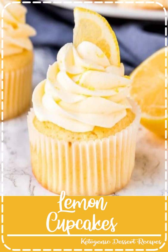 These homemade lemon cupcakes are fluffy Lemon Cupcakes