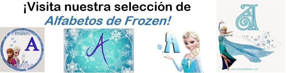 Alfabetos de Frozen