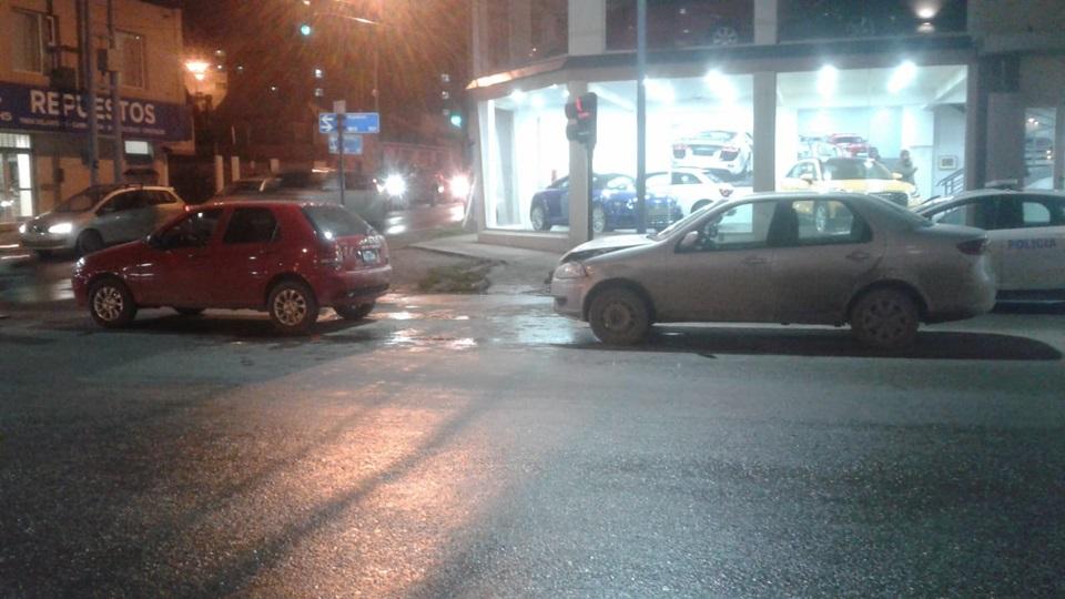 Choque en Magallanes y Don Bosco