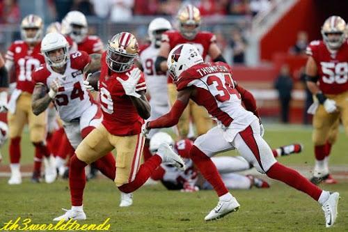 watch live american football games online free_49ers' novice Deebo prophet in elite receiving company