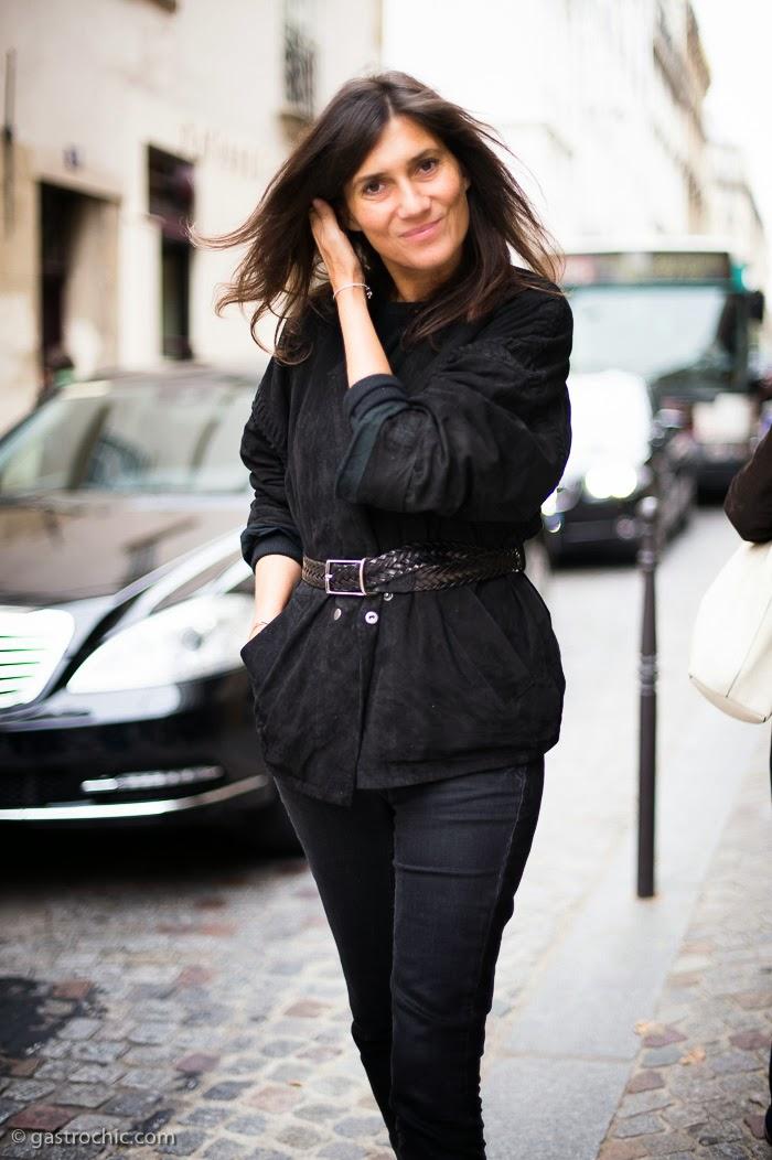 Emmanuelle Alt Style Du Monde: How To Steal Emmanuelle Alt's Signature Off-Duty Style