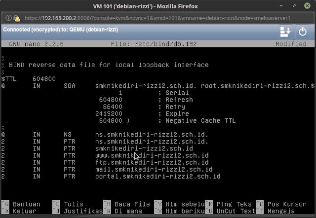 Instalasi dan Konfigurasi DNS Server di Debian 8.5