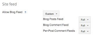 Where is Sitemap in Blogspot Blogger Blog