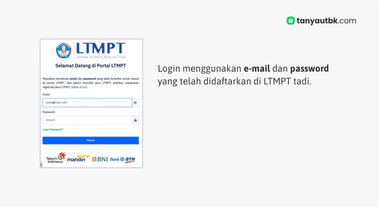 Tutorial Cara Registrasi Akun Ltmpt 2021 Bagi Siswa Tanya Utbk