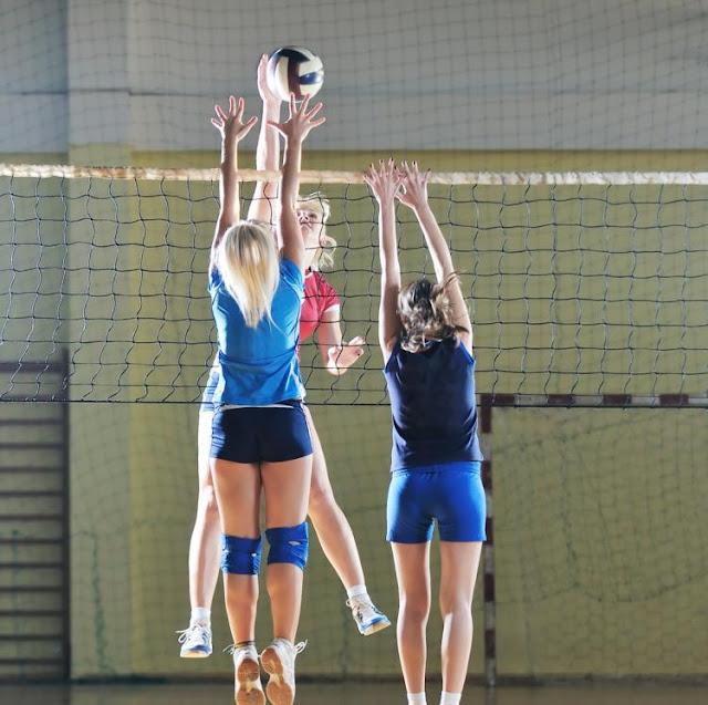 indoor volleyball net