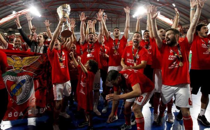 Blog Benfica Campeão Nacional de Futsal 2018/19