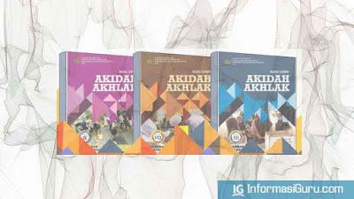 Download Buku Siswa dan Guru Mapel Akidah Akhlak MTs Semua Kelas (7,8,9)  Sesuai KMA No 183 Tahun 2019