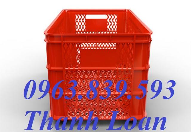 Rổ nhựa trưng bày, rổ nhựa đựng hàng may mặc 0963.839.593 Hs0199-2u