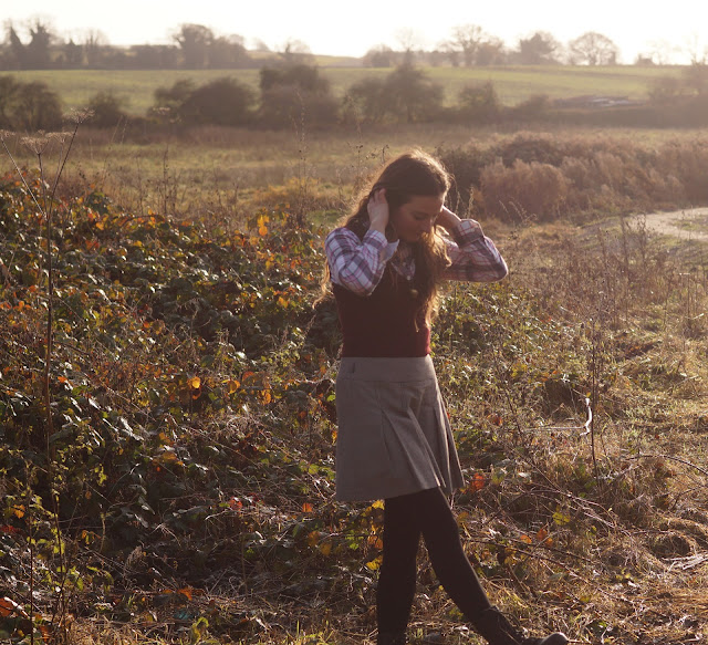 countryside fashion blogger dressing for autumn