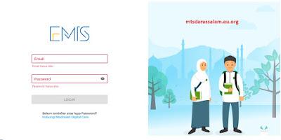 Cara Registrasi Akun Kamad Di EMIS Terbaru 2021