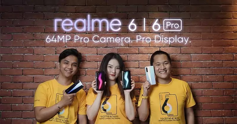 Realme 6 Series Launch