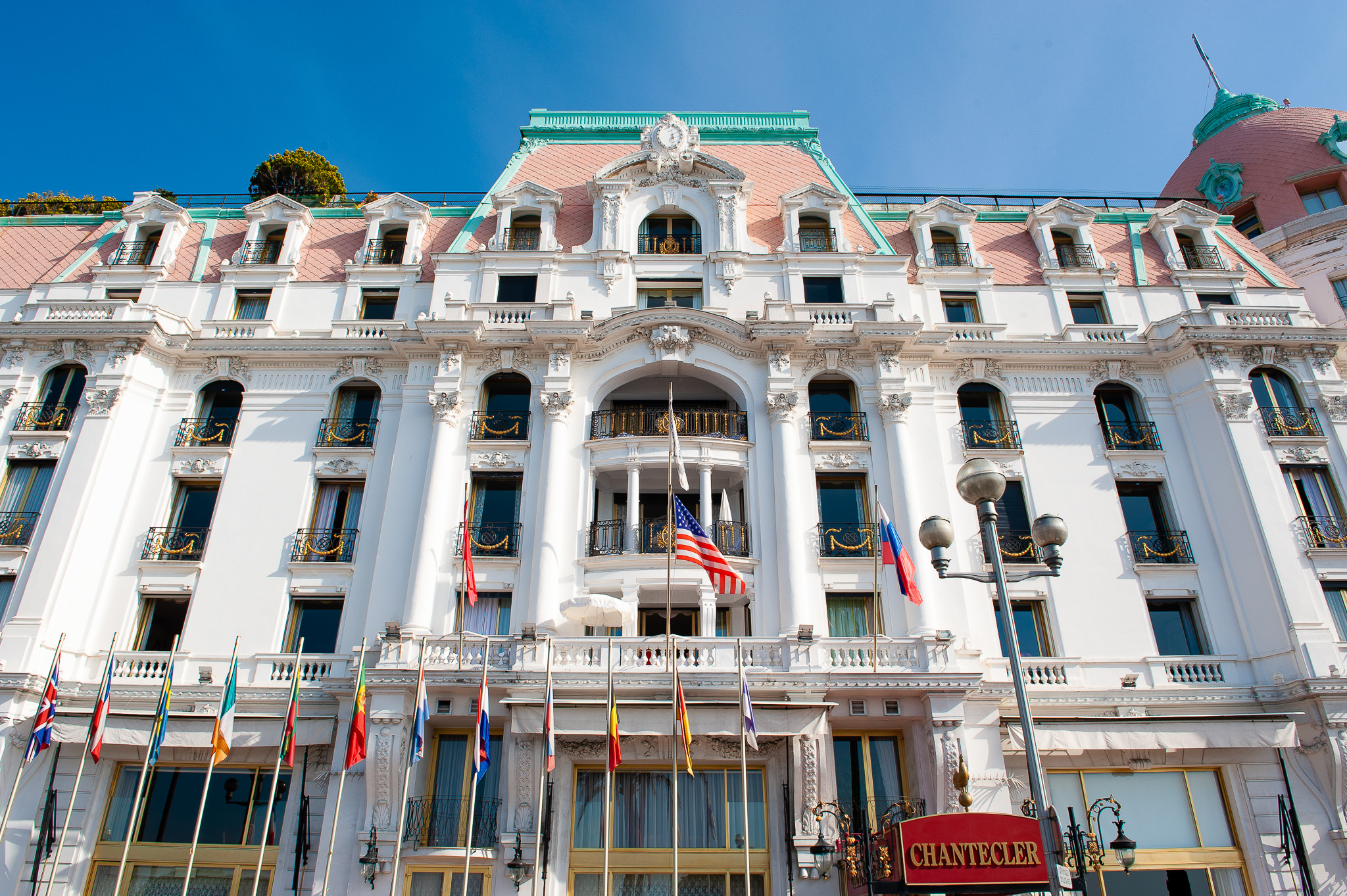 a photo of a grand hotel negresco in nice south of france daniel south