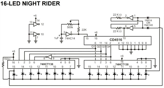 Electrical and Electronics Engineering: Simple Night Rider