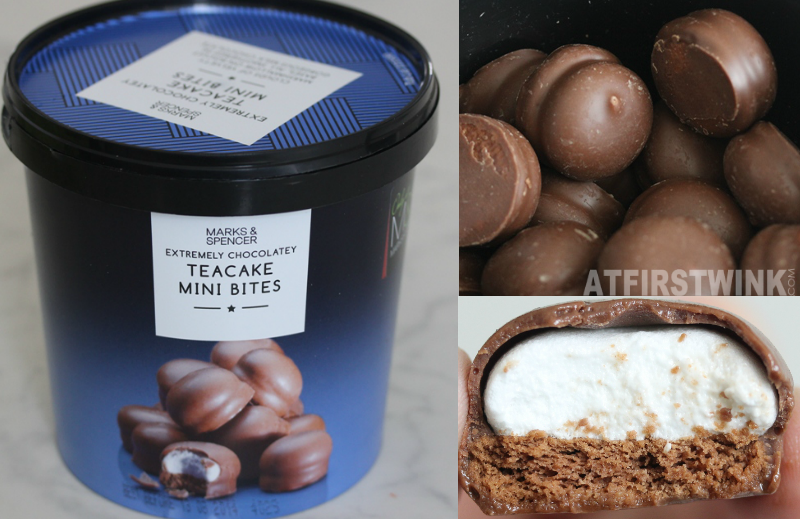 Marks & Spencer extremely chocolatey teacake mini bites