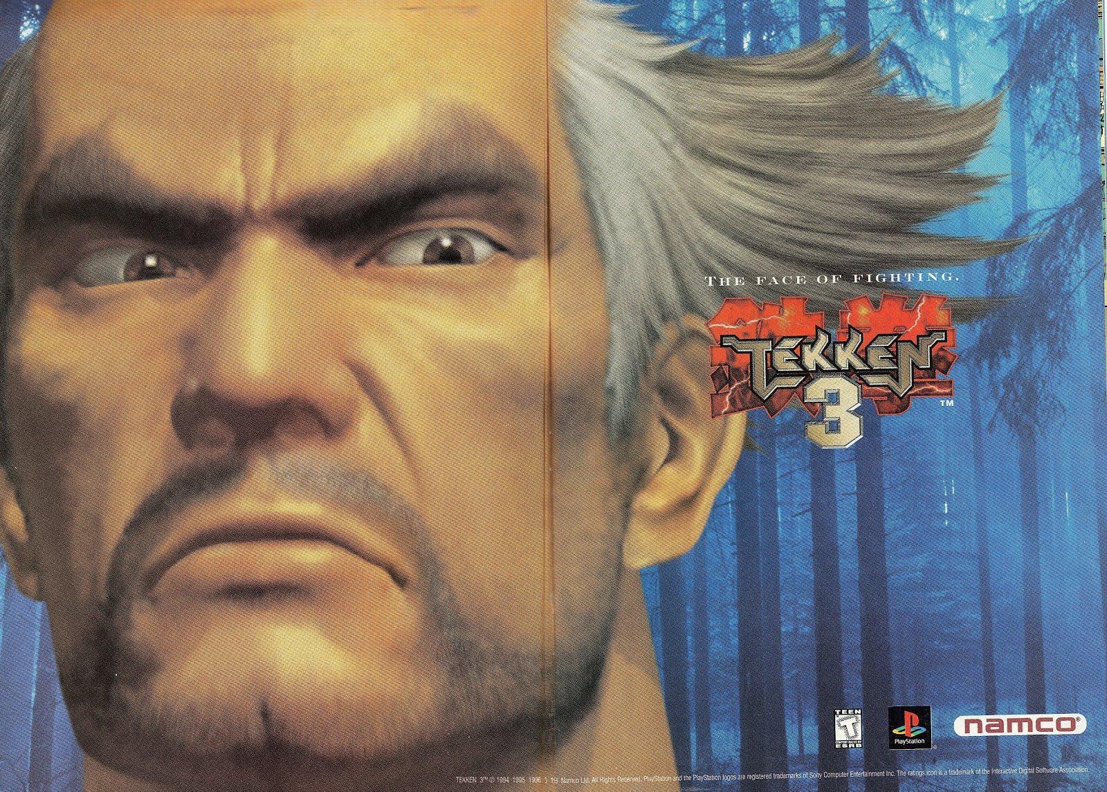 tekken characters old man