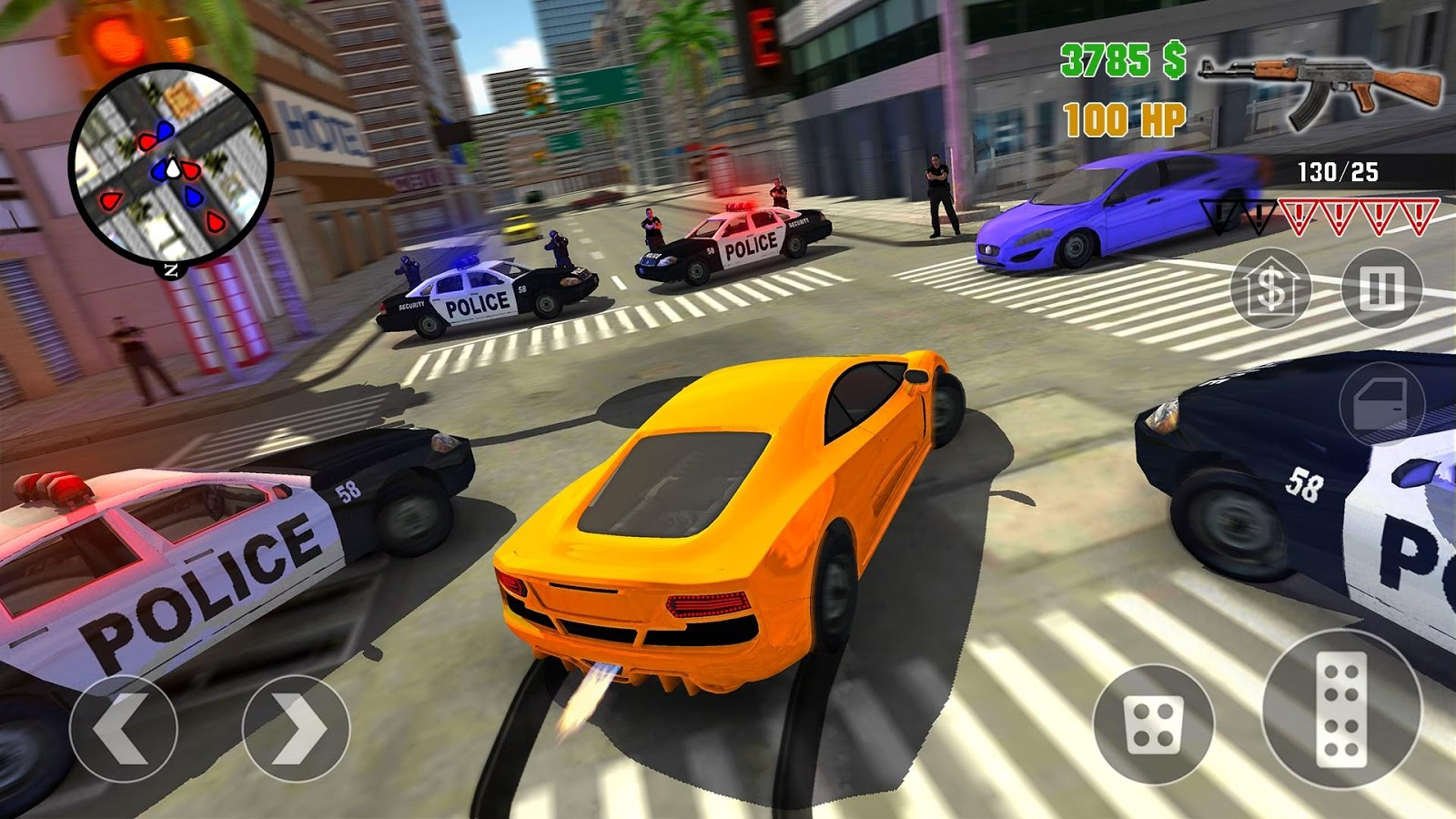 Clash of Crime Mad City War Go | 77 MB
