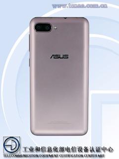 Asus X00KD Back side
