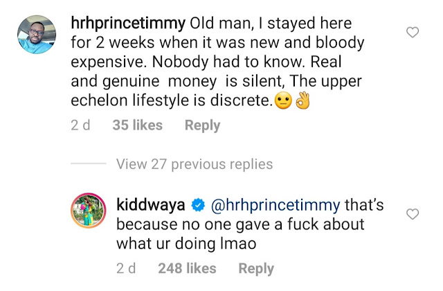 """""""Kiddwaya hits back at people criticising his father Terry Waya for showing off on Instagram"""""""