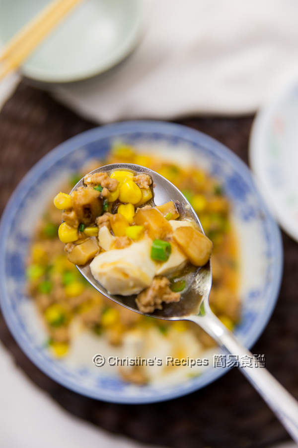 肉碎蒸滑豆腐 Steamed Tofu with Pork Mince04