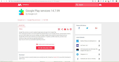 موقع تحميل تطبيقات أندرويد apk كبديل لجوجل بلاي  App Market Google Play Alternative