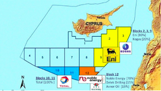 Turkish military stops Eni drilling offshore Cyprus