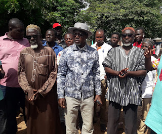 Dahamani Visits Flood Affected Communities In Tamale North