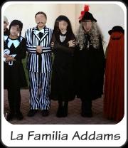 Disfraz familia Addams