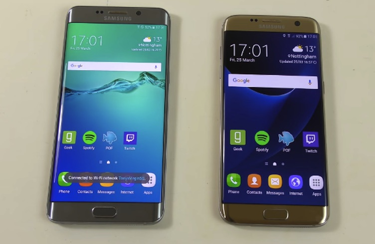 Mobile Amp Technology Samsung Galaxy S7 Edge Vs Galaxy S6