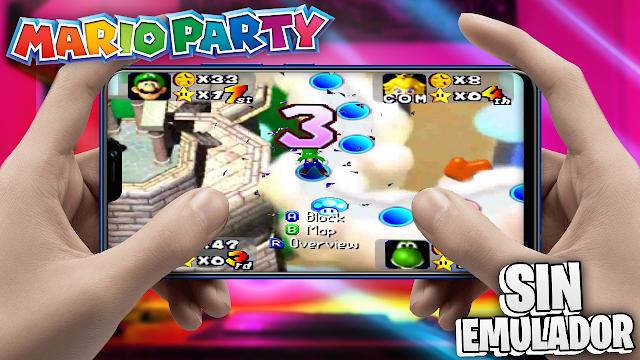Mario Party 1 Sin Emulador Para Teléfonos Android (Apk)
